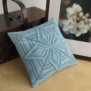 Starflower Pattern Pillow