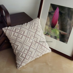 Rose Trellis Pattern Pillow