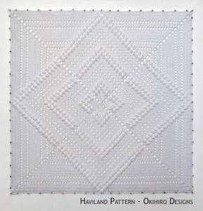 Blocking Board – Haviland Pattern