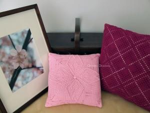 Pillow Display – Dogwood & Tartan Patterns