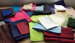 Lazy Friday – All the Shades of Fabric