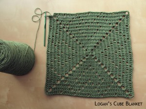 Blanket Projects – Logan's Cube Blanket, Day 1