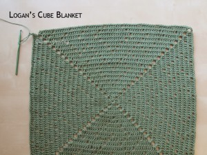 Blanket Projects – Logan's Cube Blanket, Day 3