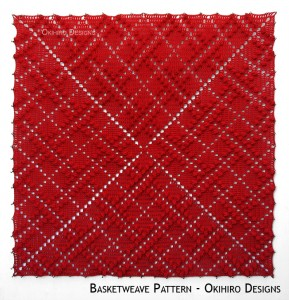 Blocking Board – Basketweave Pattern