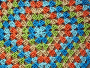 Blanket Projects – Koelewyn Twins Granny Square Blanket, Day 2