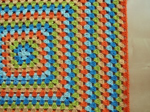 Blanket Projects – Koelewyn Twins Granny Square Blanket, Day 5