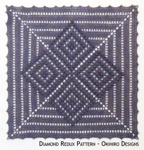 Blocking Board – Diamond Redux Pattern
