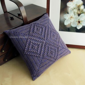 One-Off Diamond Redux Pillow