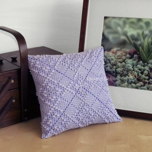 Argyle Pattern Pillow